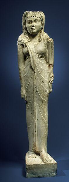 Pharaoh Timeline images or statues   Statue of Queen Arsinoe II [Egyptian] (20.2.21)   Heilbrunn Timeline ...