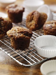 Apple & Cinnamon Muffins - FAGE Total® not only replaces some of the fats in these muffins but adds a delicious moistness as well.