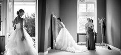 Wunderschöne Brautfotos bei den letzten Vorbereitungen von Oleg Rostovtsev
