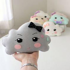 thunder cloud ► des coussins nuages arrivent bientôt sur generation-kawaii.com Cloud cushion coming soon!!!