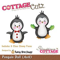 The Scrapping Cottage - - CottageCutz - penguin doll