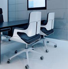 Interstuhl White Office Chair 262S