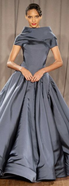 Zac Posen 2014... I think I would change the collar ... just a bit, but everything else I LOVE