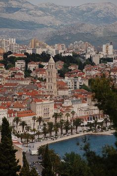 Split, Croatia, what a beautiful place. #travel #Croatia
