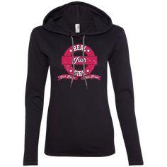 Real Irish Girl -Pride Ladies LS T-Shirt Hoodie
