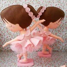 DIY para hacer una bailarina de fieltro