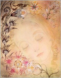Sulamith Wulfing ~ Sleep or The Young Girl