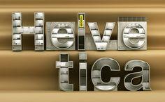 Helvetica Typography Example