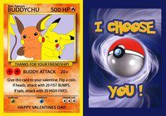 POKEMON Valentine's Day cards | Etsy Pokemon Valentine Cards, Free Valentines Day Cards, Valentine Day Boxes, Valentines For Kids, Valentine Crafts, Pokemon Cards, Valentine Ideas, Valentine Party, Holiday Crafts