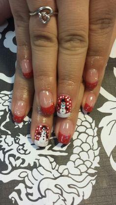 Gel manicure #gelnailart