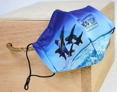 BLUE ANGELS LICENSE PLATE MASK Adult One Size Fits Most Adjustable straps Pocket for filter (filter not included) Us Navy Blue Angels, Naval Aviator, Drawstring Backpack, Filter, Plate, Pocket, My Style, Big, Closet
