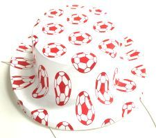 Mini Plastic Football Hats - 10. These hats look great and are perfect to wear during Euro 2016 whilst watching the games. http://www.novelties-direct.co.uk/Mini-Plastic-Football-Hats-10.html