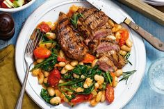 Slimming World Zesty lamb with cannellini beans recipe