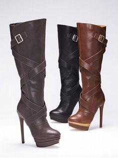 Colin Stuart Belted Platform Boot #VictoriasSecret http://www.victoriassecret.com/clearance/shoes/belted-platform-boot-colin-stuart?ProductID=77757=CLR?cm_mmc=pinterest-_-product-_-x-_-x