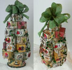 """Lovely Advent Calendar from Laura Carson """"Artfully Musing"""" at http://artfullymusing.blogspot.com"""