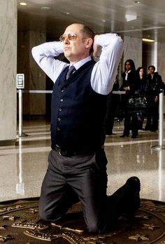 Raymond Red Reddington -James Spader The Pilot  Anybody notice how quickly (and…