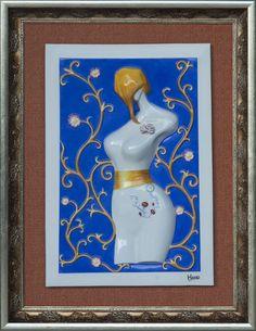 Charm - 3D Porcelain Painting Porcelain, Charmed, 3d, Painting, Porcelain Ceramics, Painting Art, Paintings, Painted Canvas, Drawings