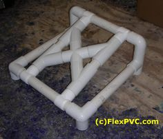 #1 FlexPVC®.com This is a miniture version of what you could build for A PVC awning. just to show the customer how to do it. You would of course use longer ... & Adjustable PVC Tent Pole Details - Fast Height Adjustment and ...