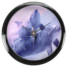 Underwater 12 Aqua Clock Options