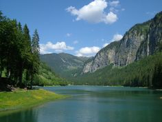 Lake Montriond, near Morzine - wonderful both summer and winter - my own photo. Pictures Of Beautiful Places, Alpine Lake, Mountain Village, Mountain Living, France, Rhone, Adventure Travel, Places To See, Travel Inspiration