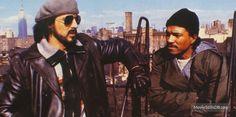 Nighthawks publicity still of Sylvester Stallone & Billy Dee Williams