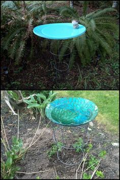 Do you know what else you can do with a tomato cage? This one is a clever idea perfect for small gardens...