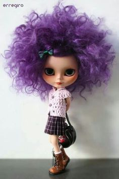 ....I like this little doll, it is the purple hair.