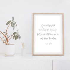 This CS Lewis quote is perfect for any space. If I can help make your house/apt or work space feel like home, I'd be honored to have my art hang in your space. Wall art—posters, prints and framed pieces - is one easy, stress-free way to start expressing yourself in your home, or office!