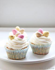 Lemon Coconut Cupcakes - Shhh, its a secret!
