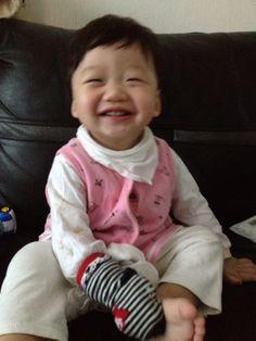Smile!! Cute!
