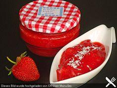 Erdbeermarmelade mit Kokosmilch, ein beliebtes Rezept aus der Kategorie Haltbarmachen. Bewertungen: 66. Durchschnitt: Ø 4,3.