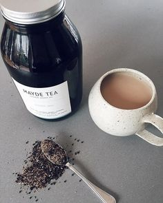 Morning rituals with Mayde Tea before a full day of podcast recordings  #creativestarters