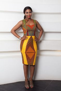 multicolor african print78