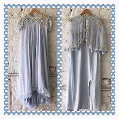 Powder Blues tunics from Summer by Priyanka Gupta. Tunic Designs, Kurta Designs, Simple Dress Pattern, Dress Patterns, Lehenga Crop Top, Kaftan Gown, Indian Party Wear, Indian Wear, Hijab Style Dress