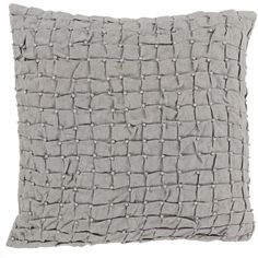 Diana Pillow in Light Gray
