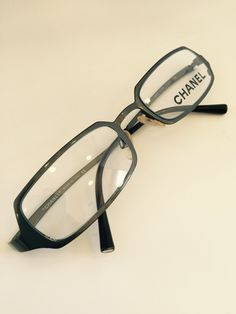 9848a06e7e611 Chanel 2023 Authentic Vintage reading glasses by athensoptical on Etsy