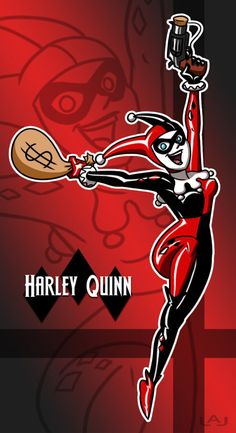 Harley Quinn by Red-Flare on @DeviantArt