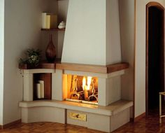 Country Design Ideas For Corner Fireplaces Gallery. Different Rooms Design  With Country Style Ideas Corner Fireplaces.
