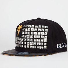 BLVD SUPPLY Tiger Mens Snapback Hat #blvd #studs #snapback #souljaboy #palmtree #snakeskin