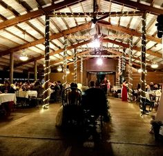 A view from behind the Sweetheart Table at Cielo Blu Barn.