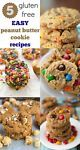 I love easy peanut butter cookies! With one base recipe you can create so many unique peanut butter cookies and they're all gluten-free (check your add-ins to make double sure). The basic recipe you need...