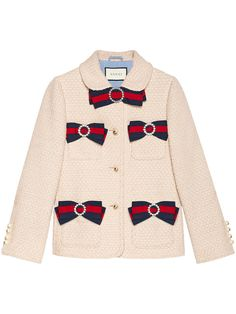 Shop Gucci Tweed jacket with web tape nodes. - Gucci Jacket - Ideas of Gucci Jacket - Shop Gucci Tweed jacket with web tape nodes. Blazers For Women, Jackets For Women, Pink Tweed Jacket, Gucci Dress, Gucci Gucci, Jacket Buttons, Colorful Fashion, Tweed Jackets, Outerwear Jackets
