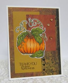 Stamps - Our Daily Bread Designs Pumpkin Single, Cherry Blossom, ODBD Custom Pumpkin Die