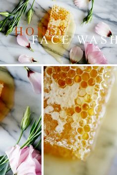 How to Wash Your Face with Honey: First wet your face like you normally would…