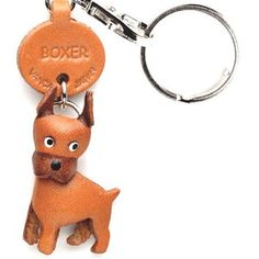 Vanca Crafts -- Leather dog breed key chains on Fab.  My husband got me one of these from a boutique in Aspen!  -#mrsbitterchef