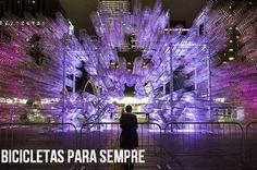Forever Bicycles - Artista chinês Ai Wei Wei cria instalação de arte com mais de 3.000 bicicletas