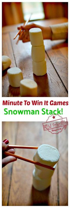 christmas games Easy christmas games for kids minute to win it . - christmas games Easy christmas games for kids minute to win it Ideas - Minute To Win It Games Christmas, Christmas Party Games For Kids, Xmas Games, Holiday Party Games, Kids Party Games, Minute To Win It Games For Adults, Christmas Family Games, Family Crafts, Fun Games For Adults