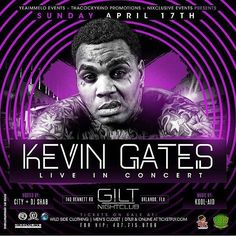 """ORLANDO"" today @gilt_nightclub Kevin Gates!!! @iamkevingates 4/17 Get your Tickets at the door wile supply still last! #kevingates #orlando #florida @wrldent #promolife #marketing #musiclife #musicpromo #wrldent #zoocrewsvp #giltnightclub #centralflorida by zoocrewsvp - #giltnightclub #giltorlando #aperturestudiosmedia #edm #orlando #orlandonightlife"