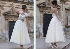 Stephanie Allin- Bardot dress