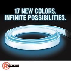 Calling all DIYers: #RadioShack has 17 new colors of EL wire/tape. What will you light up?